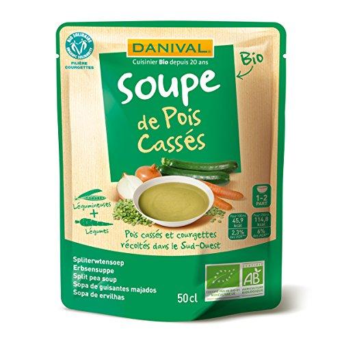Danival - Soupes de pois cassés bio - 50 cl