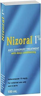 NIZORAL 1% KETOCONAZOLE AD SHAMPOO SOLUTION 50ml 1.7 Oz