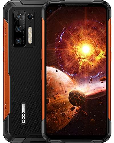 Outdoor Smartphone ohne Vertrag, DOOGEE S97 Pro (2021) Android 11 Outdoor Handy Dual SIM, Helio G95 8GB+128GB, 48MP Quad-Kamera, Laser-Entfernungsmesser, 8500mAh Akku, 6.39 Zoll, IP68 Wasserdicht, NFC