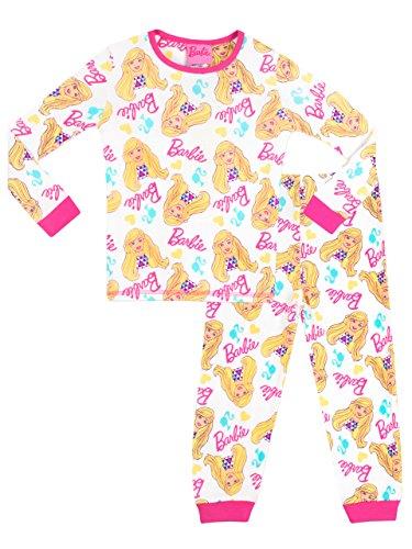 Barbie - Pigiama a Maniche Lunghe per Ragazze - 5-6 Anni