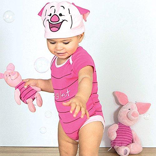 Costume/grenouillère bébé officielle Disney - Porcinet de Winnie l'ourson - Taille 0-3 mois