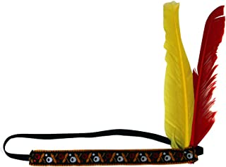 American Indian Feather Headband
