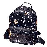 Van Caro Unisex Casual Mini Backpack,PU leather Travel Shopping Bags Daypacks