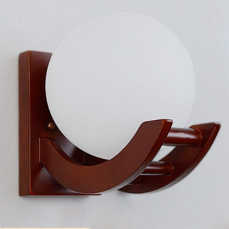 Moderne Wandleuchte Massivholz LED Wandleuchte Press Wandleuchte Kreativ Wohnzimmer Schlafzimmer Decke Nacht Nachtlicht