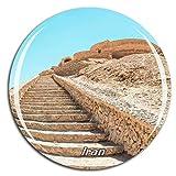 Weekino Viejo Desierto de Irán Imán de Nevera 3D de Cristal de la Ciudad de Viaje Recuerdo Colección de Regalo Fuerte Etiqueta Engomada refrigerador