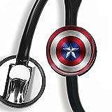 Captain America,Stethoscope Tag,Steth ID Tag,Nurse Doctor Stethoscope ID Tag