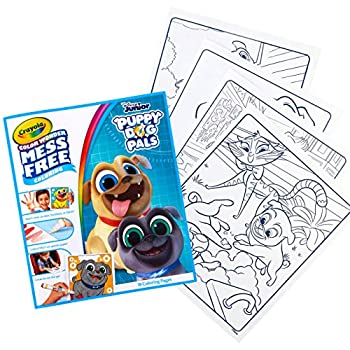 Crayola Puppy Dog Pals Color Wonder Book 18 Mess Free Coloring Pages Gift for Kids 3 4 5 6