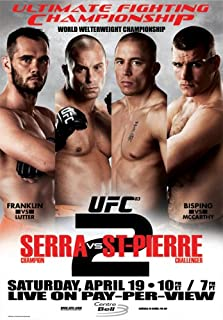 Ultimate Fighting Championship, Vol. 83: Serra vs St-Pierre