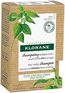 Klorane Champu Mascarilla de Ortiga 2 en En Polvo 8 Sobres Blanco