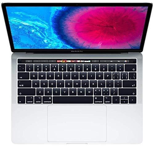Apple MacBook Pro 13.3' with Touch Bar (i5-7267u 3.1ghz 8gb 256gb SSD) QWERTY U.S Keyboard MPXV2LL/A Mid 2017 Silver (Renewed)