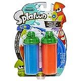 World of Nintendo Splatoon Splattershot Refill 2 Pack Blue/Orange Pretend Play