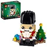 Lego 40425 BrickHeadz - Cascanueces de Navidad con árbol de Navidad, Hombres, Mujeres y niños a Partir de 10 años