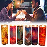 Jalea de Boda Aceite Esencial de aromaterapia Velas románticas Velas sin Humo Color de la Vela de la Boda de la Fiesta de cumpleaños