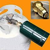 KCHEX - Propane Refill Adapter Lp Gas Cylinder Tank Coupler Heater camping Hunt