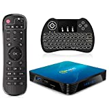 Android TV Box, QPLOVE Q8 Android 10.0 TV Box 4Go RAM 32Go ROM RK3318 Quad Core Supports 4K 3D...