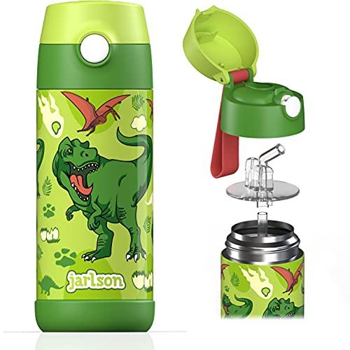 Jarlson® Borraccia Bambini Acciaio Inox, Bottiglia Termica, Senza BPA,...