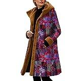 WARMWORD Abrigo De Invierno Mujer Libre Abrigos para Mujer Rebajas Talla Grande Abrigo con Capucha D...