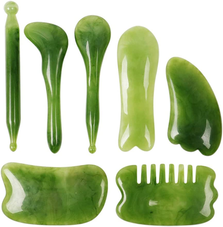Gua Sha Tools Popularity Scraping Massage for M Body- and Face Resin Financial sales sale Guasha