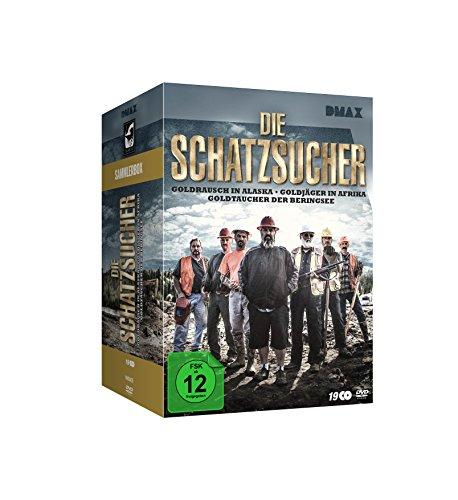 Die Schatzsucher - Goldrausch - Sammler-Box (19 DVDs)