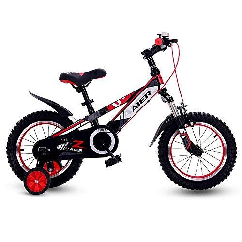 JHSHENGSHI Bicicleta de Equilibrio para bebés Bicicleta para niños de 16 Pulgadas,...