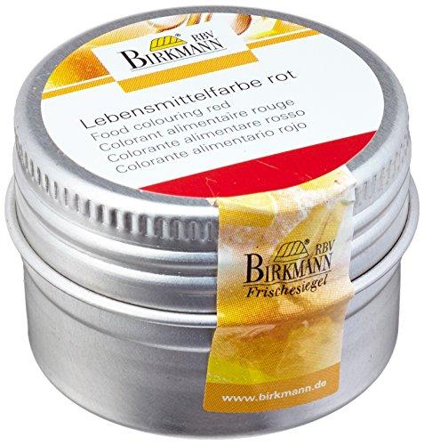 Birkmann 503014 Lebensmittelfarbe rot, 10 g