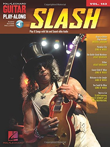 Guitar Play-Along Volume 143: Slash (Book & Online Audio): Noten, Play-Along, Download für Gitarre
