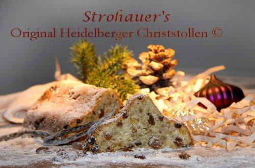 Strohauer's Original Heidelberger Christstollen© 1500g 20046 GK