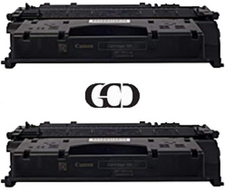 2 Pack of Replacement BLACK Toners for CANON 120, 2617B001AA, D1120, D1150, D1170, D1180, D1320, D1350, D1370