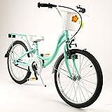 barabike 20FLO-CYA Bicicletta per Bambini, 20'