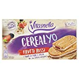 Vitasnella Cereal Yo Biscotti Frutti Rossi, 5 x 50.6g
