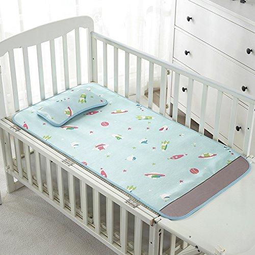 LIANGXI Tapis pour bébé, nouveau-né, crème glacée, sieste, crèche, lit d'enfant, tapis d'été, 110 x 60 cm, violet