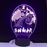 Red Dead Redemption Juego De Decoración De Dormitorio Usb Night Light Gift Decoración Del Hogar 3D Led Light Jewelry