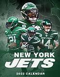 New York Jets 2022 Calendar: 18 Months 2021-2022