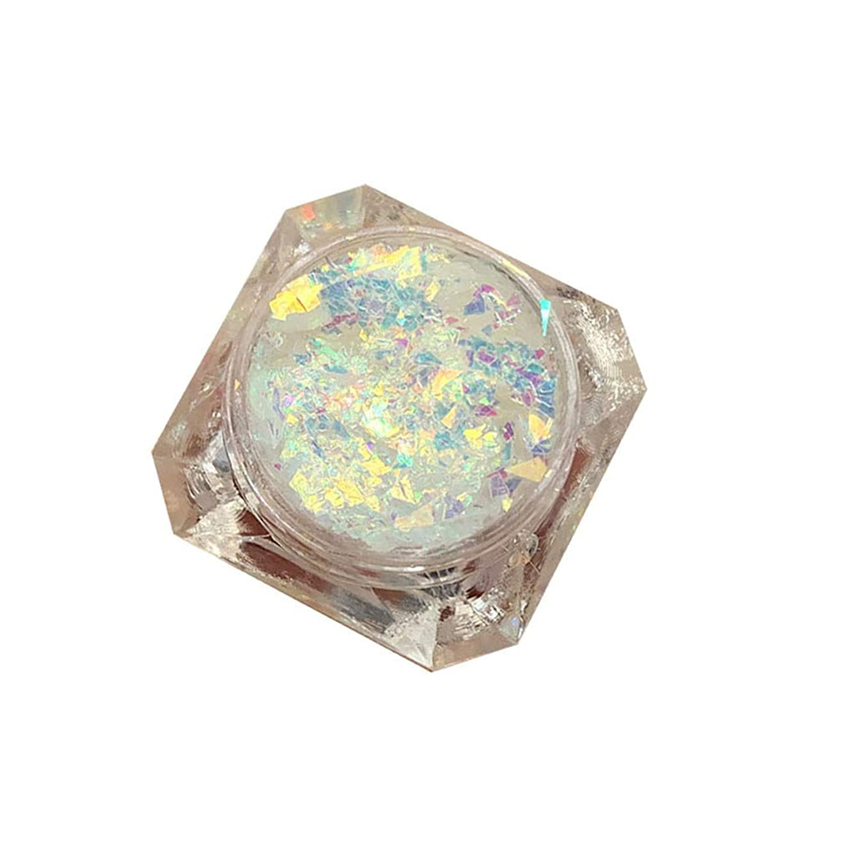 招待計り知れないデマンドGOOD lask 接着剤フリーのスパンコール混合ゲルジェルクリーム真珠光沢のある高光沢グリッターグリッターアイパウダールースパウダージェルシャドウセット (N)