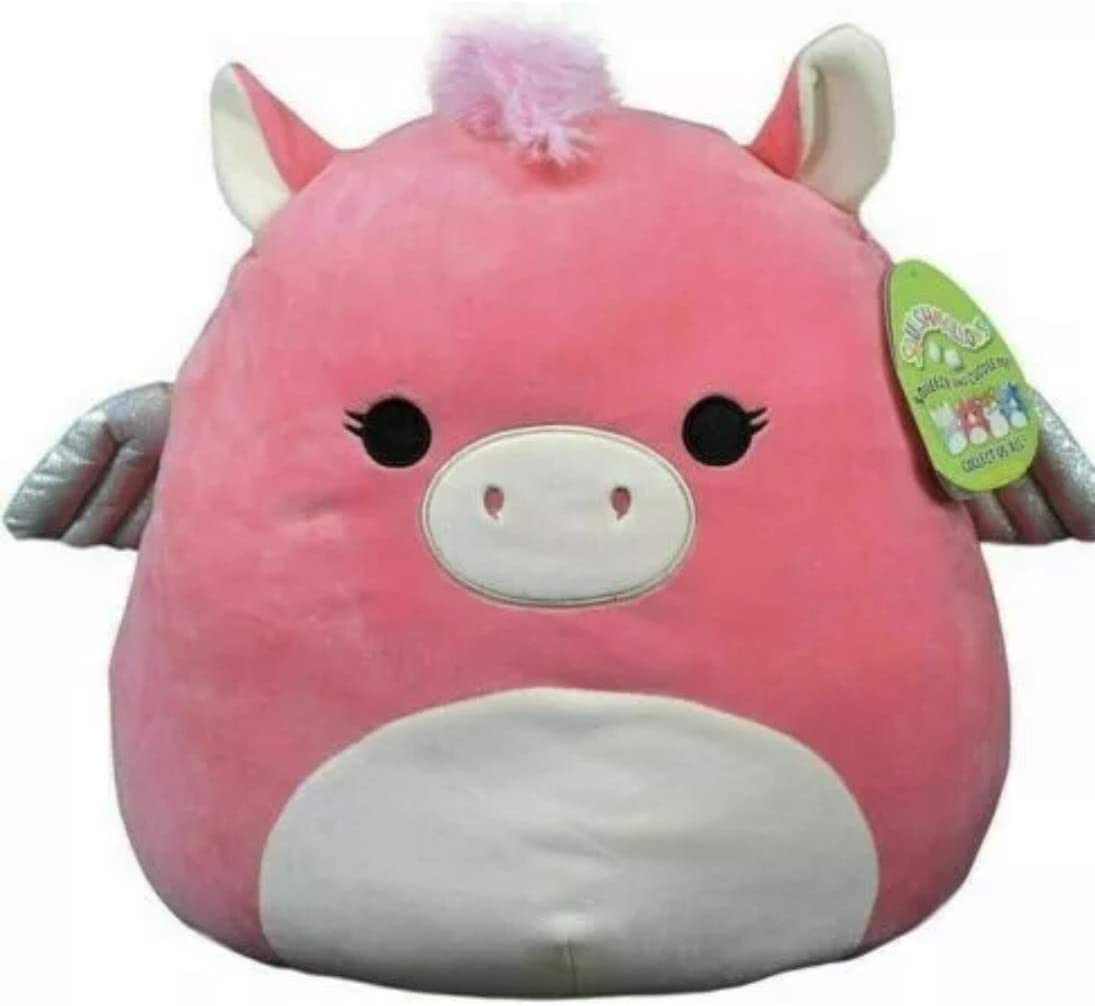 Squishmallow Quantity limited Kellytoy 16 Inch Pink Unicorn Pegasus Paloma Super Max 53% OFF