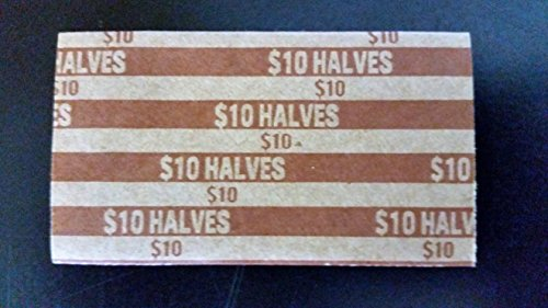 Half Dollar Flat Coin Wrappers, 40 Pack