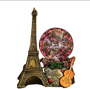 Bola De Plasma Luz Electrostática Luminosa Torre Eiffel Bola Mágica para Decorar Niños