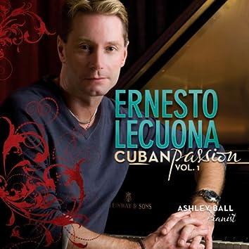 """Ernesto Lecuona """"Cuban Passion Vol.1"""""""