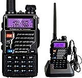 BaoFeng UV-5RE UHF/VHF Radio Bidireccional con Auricular, Doble Banda