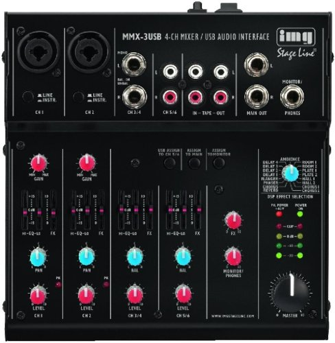 Mini-USB-Mixer img Stage Line MMX-3USB