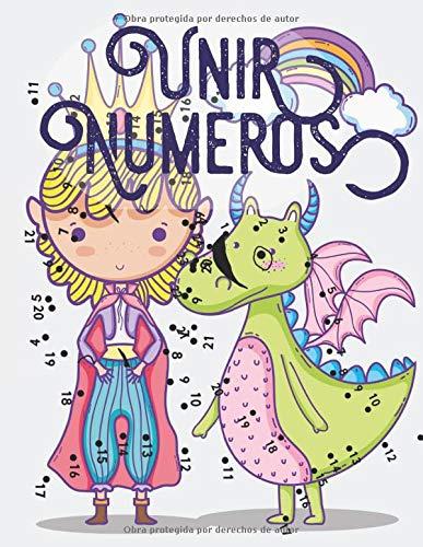 Unir Numeros: Libro de actividades para niños, Unir puntos infantil, Unir puntos numeros niños 4-10 años.