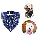 Shengruili Collar con Bandanas para Perro,para Collar de Perro Triángulo,Pañuelos para Perros,Baberos para Mascotas,Cuello PañUelo para Perros,Bandana Lavable para Perro,Pajaritas para Mascotas (J)