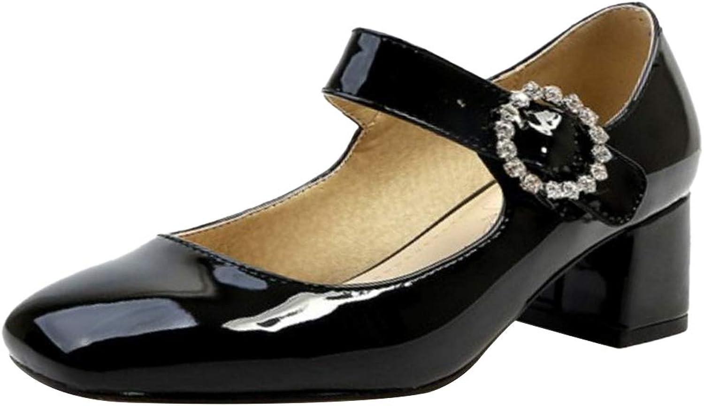 MisaKinsa Women Mary Jane Pumps shoes