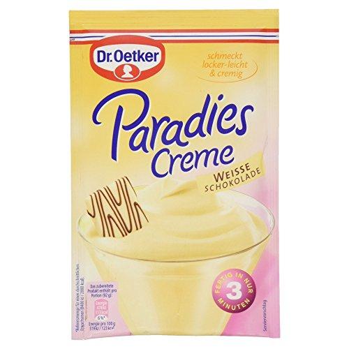 Dr. Oetker Paradies Creme Weiße Schokolade, 70 g