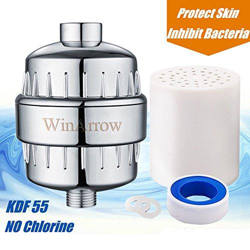 WinArrow Filtro de ducha universal de alto rendimiento