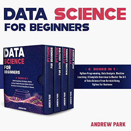 Data Science for Beginners: 4 Books in 1 cover art