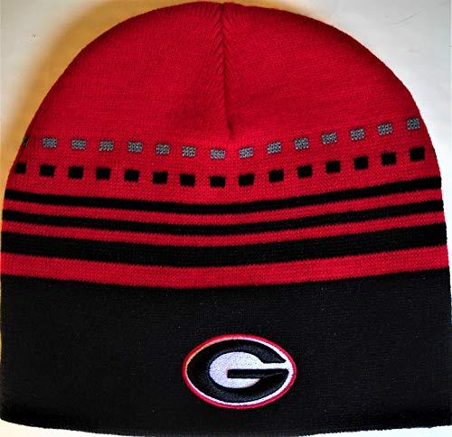 georgia bulldog knit hat - 1