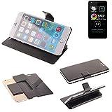 K-S-Trade® Handy Schutz Hülle Für Allview A9 Lite Flip Cover Handy Wallet Case Slim Bookstyle Schwarz