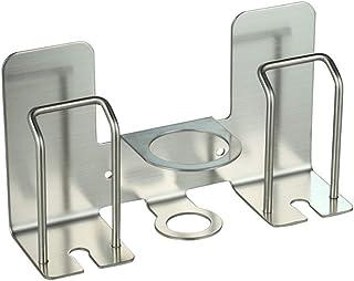 TOPBATHY 1Pc Dispenser automatico di dentifricio a parete Creativo Mani libere Dentifricio Spremiagrumi Porta dentifricio per bambini Neonato grigio