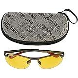 junmo shop Gafas de sol polarizadas, TAC & Al-Mg aleación deportes al aire libre conducción hombres polarizados gafas de sol moda vintage Cool gafas de sol gafas de conducción nocturna